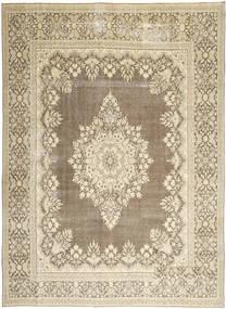 Kerman Patina Matta 285X388 Äkta Orientalisk Handknuten Ljusgrå/Beige Stor (Ull, Persien/Iran)