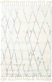 Rana - Natural/Blå Matta 120X180 Äkta Modern Handknuten Beige/Vit/Cremefärgad (Ull, Indien)