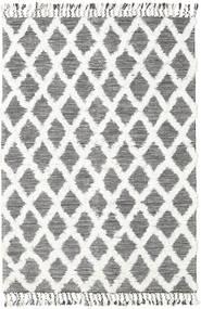 Inez - Mörkbrun/Vit Matta 160X230 Äkta Modern Handvävd Beige/Ljusgrå (Ull, Indien)