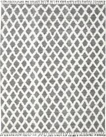 Inez - Mörkbrun/Vit Matta 200X300 Äkta Modern Handvävd Ljusgrå/Mörkgrå (Ull, Indien)