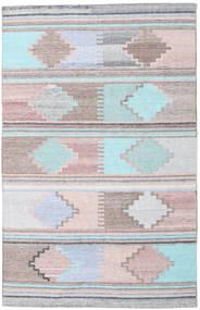Utomhusmatta Pet Yarn Kelim Matta 160X230 Äkta Modern Handvävd ( Indien)