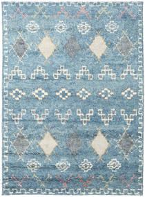 Zaurac - Blå Grå Matta 170X240 Äkta Modern Handknuten Ljusblå/Beige (Ull, Indien)