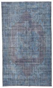 Colored Vintage Matta 185X308 Äkta Modern Handknuten Ljusblå/Blå/Mörkgrå (Ull, Turkiet)