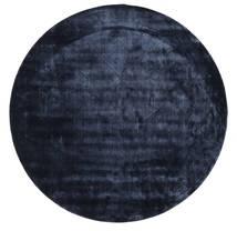 Brooklyn - Midnattsblå Matta Ø 200 Modern Rund Mörkblå/Blå ( Indien)