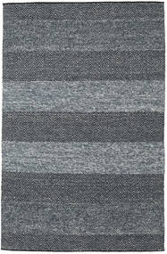 Folke - Denim Blå Matta 250X350 Äkta Modern Handvävd Mörkgrå/Blå Stor (Ull, Indien)