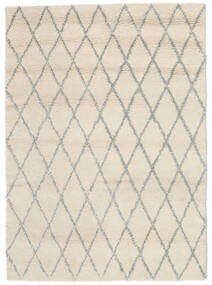 Queens - Grå - Comb. Matta 160X230 Modern Beige (Ull, Indien)