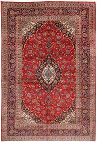 Keshan Matta 203X300 Äkta Orientalisk Handknuten Mörkröd/Roströd (Ull, Persien/Iran)