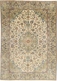 Najafabad Patina Matta 187X265 Äkta Orientalisk Handknuten Ljusbrun/Ljusgrå (Ull, Persien/Iran)