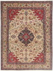 Tabriz Patina Matta 225X332 Äkta Orientalisk Handknuten Ljusbrun/Mörkbrun (Ull, Persien/Iran)