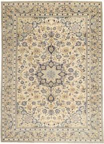 Najafabad Patina Matta 222X310 Äkta Orientalisk Handknuten Ljusgrå/Beige (Ull, Persien/Iran)