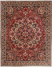 Bakhtiar Patina Matta 267X360 Äkta Orientalisk Handknuten Mörkröd/Mörkbrun Stor (Ull, Persien/Iran)