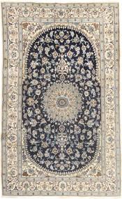 Nain Matta 185X310 Äkta Orientalisk Handknuten Ljusgrå/Mörkgrå (Ull, Persien/Iran)