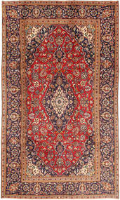 Keshan Matta 185X320 Äkta Orientalisk Handknuten Mörkröd/Roströd (Ull, Persien/Iran)