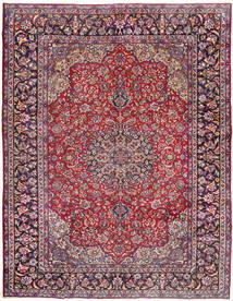 Najafabad Matta 287X380 Äkta Orientalisk Handknuten Mörklila/Roströd Stor (Ull, Persien/Iran)