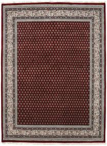 Mir Indisk Matta 248X304 Äkta Orientalisk Handknuten Mörkröd/Ljusgrå (Ull, Indien)