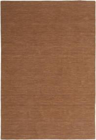 Kelim Loom - Brun Matta 250X350 Äkta Modern Handvävd Brun Stor (Ull, Indien)