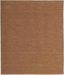 Kelim Loom - Brun Matta 250X300 Äkta Modern Handvävd Brun Stor (Ull, Indien)