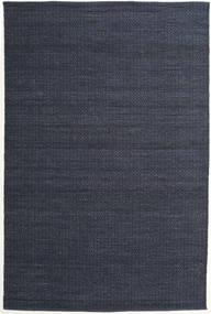 Alva - Blå/Svart Matta 200X300 Äkta Modern Handvävd Mörkblå/Lila (Ull, Indien)