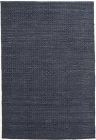 Alva - Blå/Svart Matta 160X230 Äkta Modern Handvävd Mörkblå/Lila (Ull, Indien)