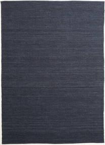Alva - Blå/Svart Matta 250X350 Äkta Modern Handvävd Mörkblå/Lila Stor (Ull, Indien)