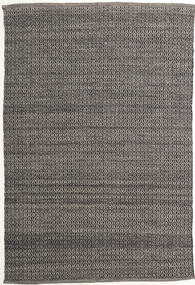 Alva - Brun/Svart Matta 160X230 Äkta Modern Handvävd Mörkgrå/Ljusgrå (Ull, Indien)