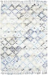 Greta Matta 120X180 Äkta Modern Handknuten Vit/Cremefärgad/Beige (Ull, Indien)