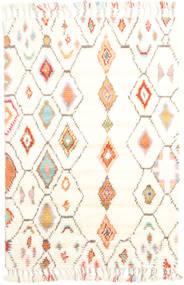 Hulda - Cream Matta 120X180 Äkta Modern Handknuten Beige/Vit/Cremefärgad (Ull, Indien)