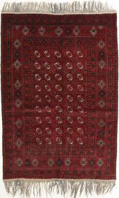 Afghan Khal Mohammadi Matta 132X182 Äkta Orientalisk Handknuten Mörkröd/Ljusgrå (Ull, Afghanistan)