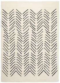 Scandic Lines - 2018 Matta 160X230 Modern Beige/Mörkgrå (Ull, Indien)