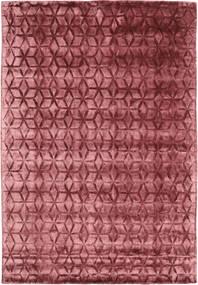 Diamond - Burgundy Matta 160X230 Modern Mörkröd/Roströd ( Indien)