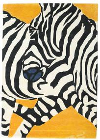 Zebra - 2018 Matta 160X230 Modern Beige/Svart (Ull, Indien)
