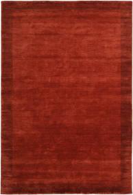 Handloom Frame - Rost Matta 200X300 Modern Roströd/Röd (Ull, Indien)