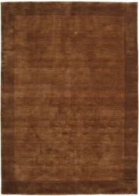 Handloom Frame - Brun Matta 160X230 Modern Brun/Mörkbrun (Ull, Indien)