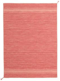 Ernst - Coral/Light_Coral Matta 140X200 Äkta Modern Handvävd Ljusrosa/Röd (Ull, Indien)