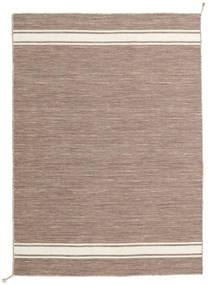 Ernst - Ljusbrun/Naturvit Matta 140X200 Äkta Modern Handvävd Ljusgrå (Ull, Indien)