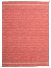 Ernst - Coral/Light_Coral Matta 200X300 Äkta Modern Handvävd Röd/Ljusrosa/Roströd (Ull, Indien)