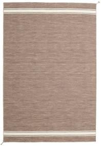 Ernst - Ljusbrun/Naturvit Matta 200X300 Äkta Modern Handvävd Ljusgrå (Ull, Indien)