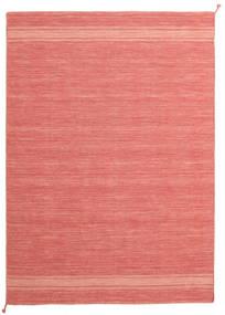 Ernst - Coral/Light_Coral Matta 170X240 Äkta Modern Handvävd Ljusrosa/Röd (Ull, Indien)