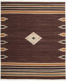 Tribal - Brun Matta 250X300 Äkta Modern Handvävd Mörkbrun Stor (Ull, Indien)