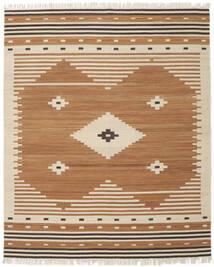 Tribal - Senap Matta 250X300 Äkta Modern Handvävd Brun/Beige Stor (Ull, Indien)
