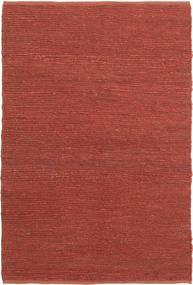 Utomhusmatta Soxbo - Rost Matta 120X180 Äkta Modern Handvävd Mörkröd/Roströd (Jutematta Indien)