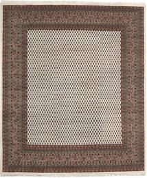 Mir Indisk Matta 245X304 Äkta Orientalisk Handknuten Mörkgrå/Ljusgrå (Ull, Indien)