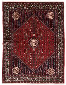 Abadeh Sherkat Farsh Matta 155X204 Äkta Orientalisk Handknuten Mörkröd/Svart (Ull, Persien/Iran)