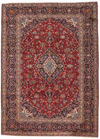 Keshan Matta 263X360 Äkta Orientalisk Handknuten Mörkröd/Mörkbrun Stor (Ull, Persien/Iran)