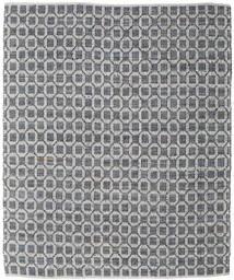 Elna - Grå Matta 250X300 Äkta Modern Handvävd Ljusgrå/Mörkgrå Stor (Bomull, Indien)