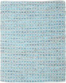 Elna - Bright_Blue Matta 250X300 Äkta Modern Handvävd Ljusblå/Ljusgrå Stor (Bomull, Indien)