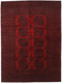 Afghan Matta 179X241 Äkta Orientalisk Handknuten Mörkröd (Ull, Afghanistan)