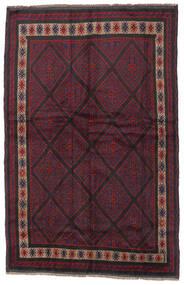 Beluch Matta 150X235 Äkta Orientalisk Handknuten Mörkröd/Svart (Ull, Afghanistan)
