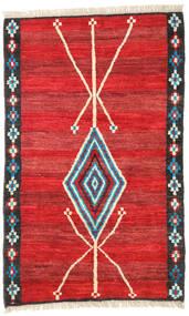 Moroccan Berber - Afghanistan Matta 118X187 Äkta Modern Handknuten Roströd/Röd (Ull, Afghanistan)