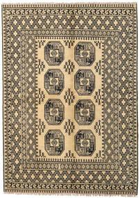 Afghan Matta 170X230 Äkta Orientalisk Handknuten Mörkbeige/Ljusbrun (Ull, Afghanistan)